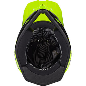 O'Neal Backflip Casco Bungarra, black/neon yellow
